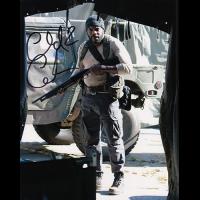 "Chad Coleman Autographed 8""x10"" (Walking Dead - Gun)"