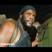 "Chad Coleman Autographed 8""x10"" (Walking Dead - Face 2)"