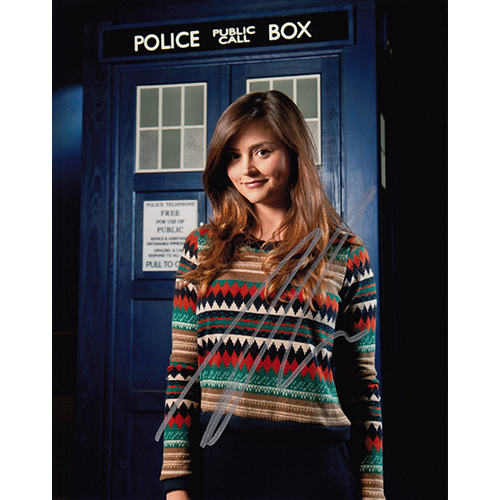 "Jenna Coleman Autographed 8""x10"" (Doctor Who)"