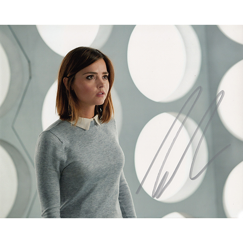 """Jenna Coleman Autographed 8""""x10"""" (Doctor Who)"""