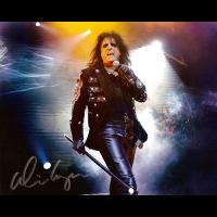 "Alice Cooper Autographed 8""x10"" (Live)"