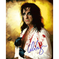 "Alice Cooper Autographed 8""x10"" (Bloodied Portrait)"