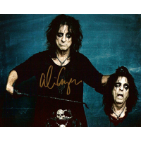 "Alice Cooper Autographed 8""x10"" (Severed Head)"