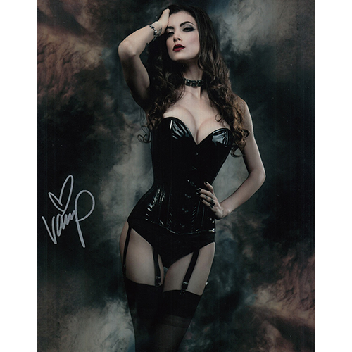 "Vamp Autographed 8""x10"" (Cosplayer)"