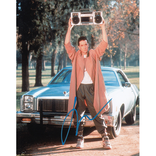 """John Cusack Autographed 8""""x10"""" (Say Anything)"""