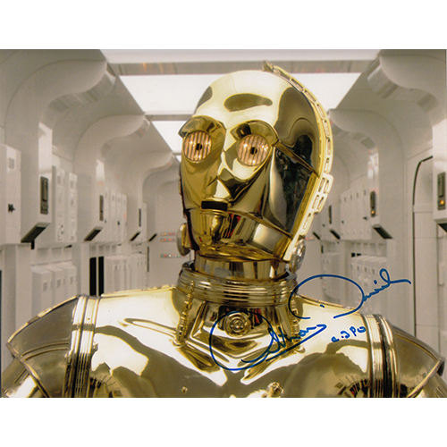 """Anthony Daniels Autographed 8""""x10"""" (Star Wars)"""