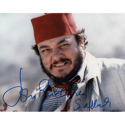 "John Rhys Davies Autographed 8""x10"" (Raiders of the Lost Ark)"
