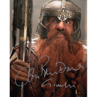 "John Rhys Davies Autographed 8""x10"" (Lord of the Rings)"