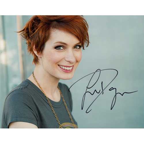"""Felicia Day Autographed 8""""x10"""" (The Guild)"""
