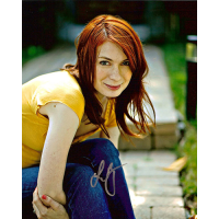 "Felicia Day Autographed 8""x10"" (The Guild - Yellow Top)"