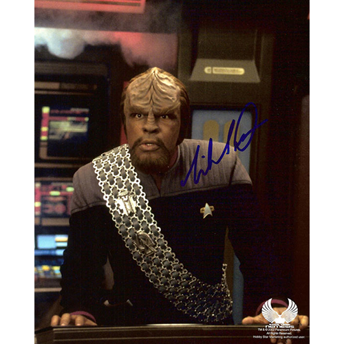 "Michael Dorn Autographed 8""x10"" (Star Trek: The Next Generation 1)"