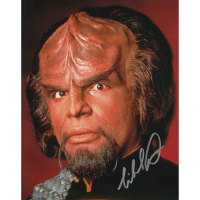 "Michael Dorn Autographed 8""x10"" (Star Trek: The Next Generation)"