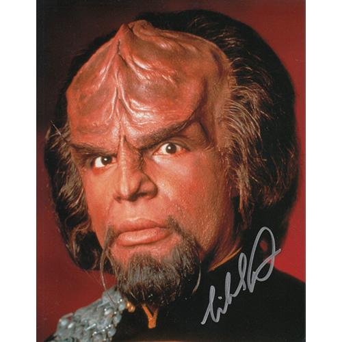 "Michael Dorn Autographed 8""x10"" (Star Trek: The Next Generation)"