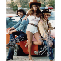 """Tom Wopat and John Schneider Autographed 8""""x10"""" (Dukes of Hazzard)"""