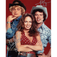 "Tom Wopat and John Schneider Autographed 8""x10"" (Dukes of Hazzard)"