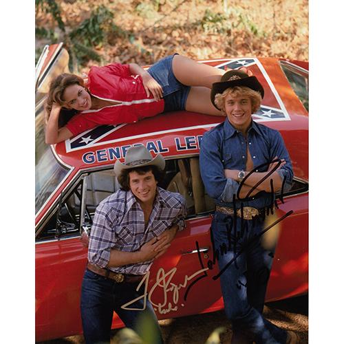 "Tom Wopat & John Schneider Autographed 8""x10"" (The Dukes of Hazzard)"