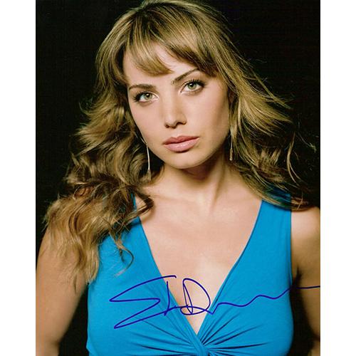 "Erica Durance Autographed 8""x10"" (Smallville)"