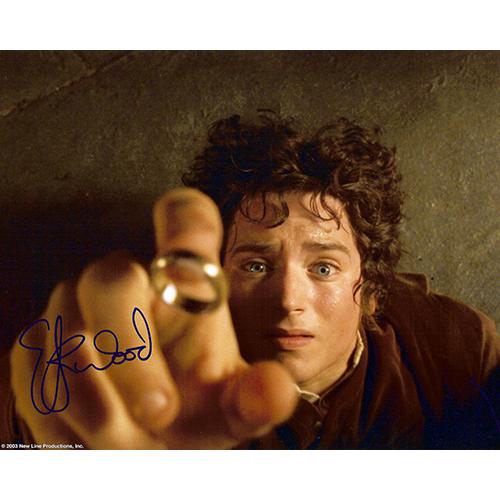 "Elijah Wood Autographed 8""x10"" Photo (Ring)"