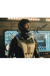 "Ethan Peck Autographed 8""x10"" (Star Trek Discovery)"