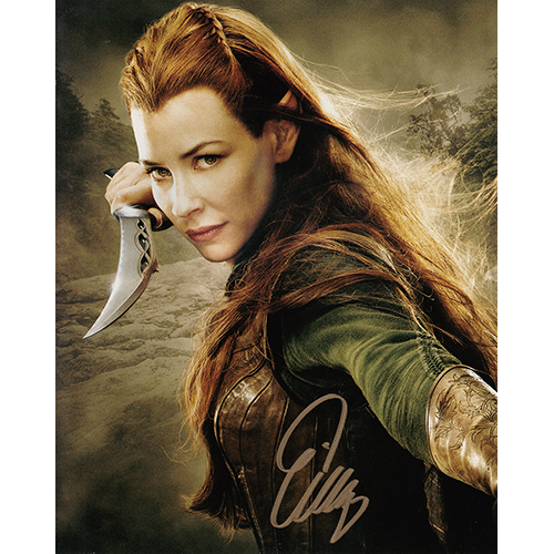 """Evangeline Lilly Autographed 8""""x10"""" (The Hobbit)"""
