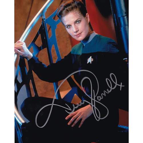 "Terry Farrell Autographed 8""x10"" (Star Trek DS9 3)"