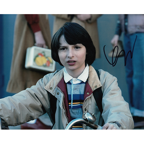"Finn Wolfhard Autographed 8""x10"" (Stranger Things)"