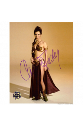 "Carrie Fisher Autographed 8""x10"" (Star Wars - Princess Leia 5)"