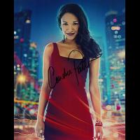 """Candice Patton Autographed 8""""x10"""" (Flash)"""