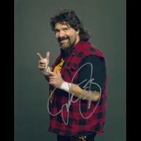 "Mick Foley Autographed 8""x10"" (WWE)"