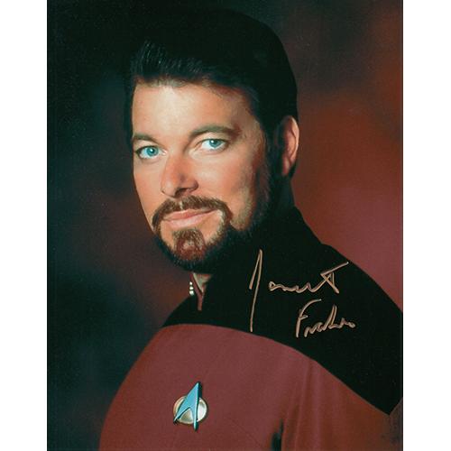 "Jonathan Frakes Autographed 8""x10"" (Star Trek: The Next Generation)"