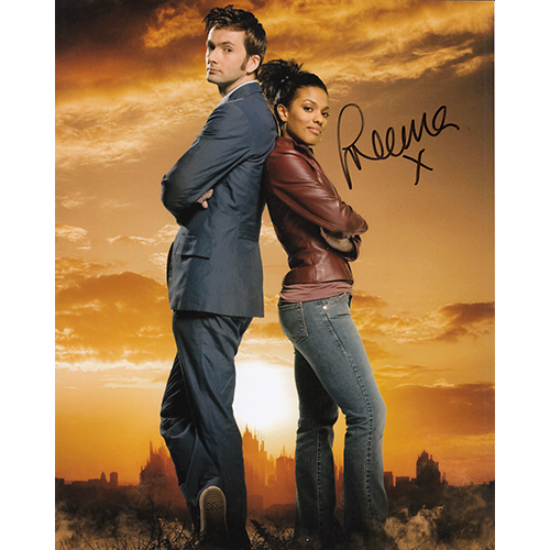 """Freema Agyeman Autographed 8""""x10"""" (Doctor Who)"""