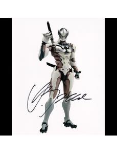 "Gaku Space Autographed 8""x10"" (Overwatch)"