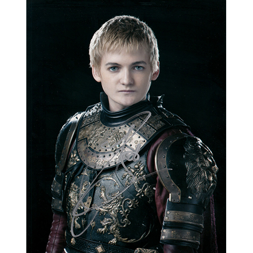 """Jack Gleeson Autographed 8""""x10"""" (Game of Thrones)"""