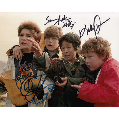"Goonies Cast Autographed 8""x10"" (The Goonies)"