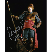 """Rupert Grint Autographed 8""""x10"""" (Harry Potter - Quidditch)"""
