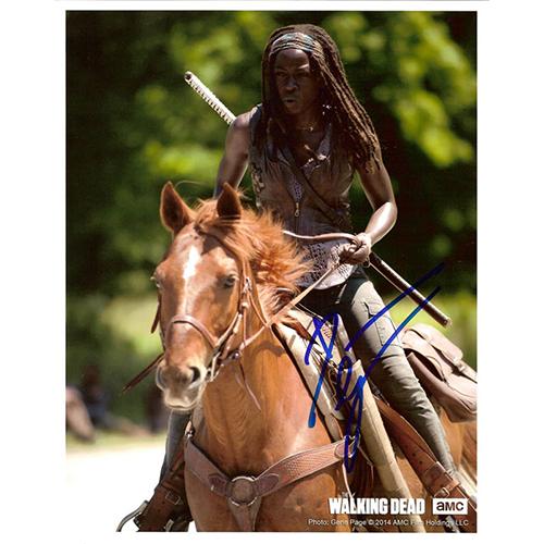 "Danai Gurira Autographed 8""x10"" (Michonne On Horse )"