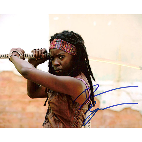 "Danai Gurira Autographed 8""x10"" (Michonne Landscape )"