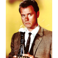 """Larry Hagman Autographed 8""""x10"""" (I Dream Of Jeannie 2)"""