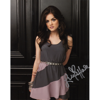 "Lucy Hale Autographed 8""x10"" (Pretty Little Liars)"