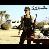 "Linda Hamilton Autographed 8""x10"" (Terminator)"