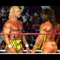 """Hulk Hogan Autographed 8""""x10"""" (WWE)"""