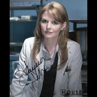 """Jennifer Morrison Autographed 8""""x10"""" (House)"""