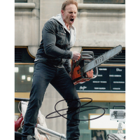 "Ian Ziering Autographed 8""x10"" (Sharknado)"