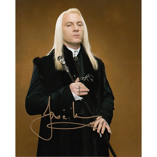 "Jason Isaacs Autographed 8""x10"" (Harry Potter)"