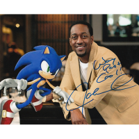 """Jaleel White Autographed 8""""x10"""" (Sonic The Hedgehog)"""