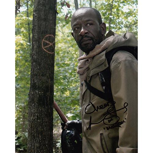 """Lennie James Autographed 8""""x10"""" (The Walking Dead)"""