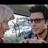 """Jeff Goldblum Autographed 8""""x10"""" (Jurassic Park)"""
