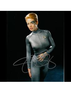 "Jeri Ryan Autographed 8"" x 10"" (Star Trek Voyager 1)"