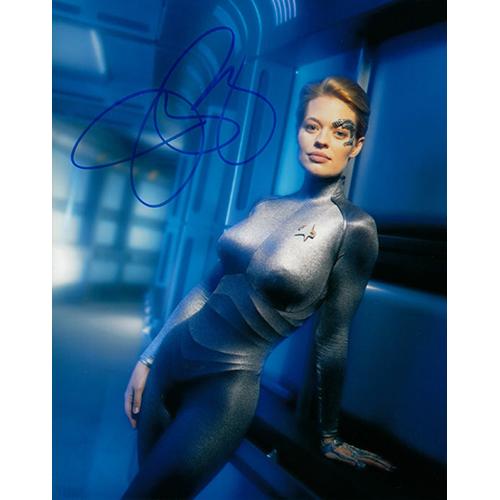 "Jeri Ryan Autographed 8"" x 10"" (Star Trek Voyager 3)"