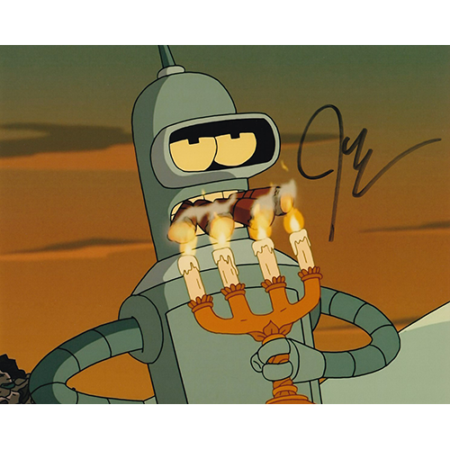 "John Dimaggio Autographed 8""x10"" (Futurama)"